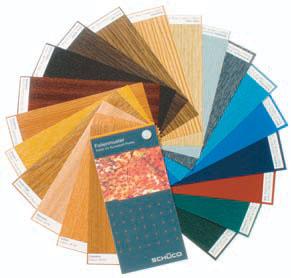 gama de cores , caixilharia, janelas, janelas em pvc